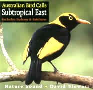 CD cover: Australian Bird Calls - Subtropical East